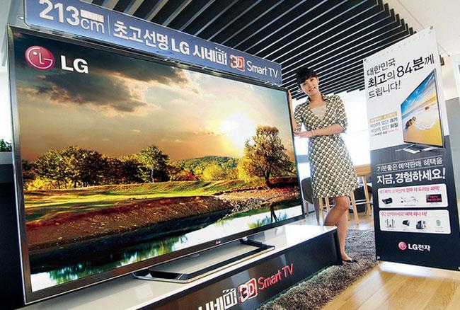 LG anunciará varios televisores y monitores 4K en el CES 2013