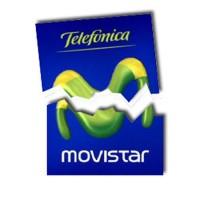 Logo Movistar roto