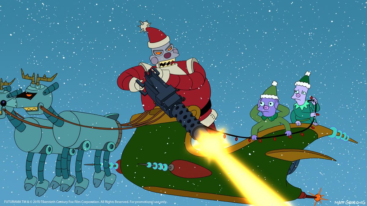 Papa Noel en Futurama