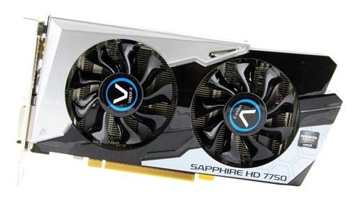Sapphire Radeon HD 7750 Black Diamond
