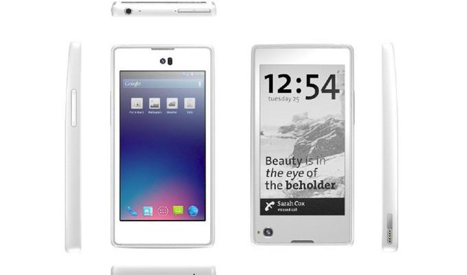 YotaPhone: Un Android ruso con dos pantallas y Dual-Core