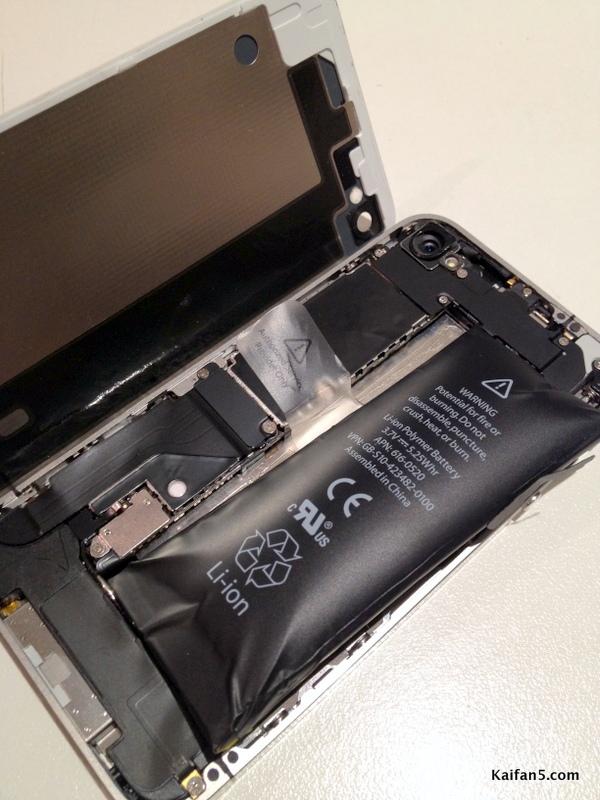 iPhone 5 con problema de batería