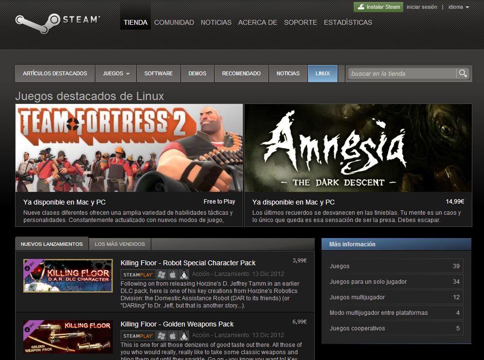 Steam Beta para Linux ya está disponible para todos