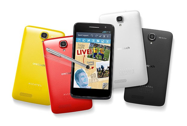 CES 2013: Smartphones Alcatel One Touch Idol, Ultra, Scrybe X y Scribe HD