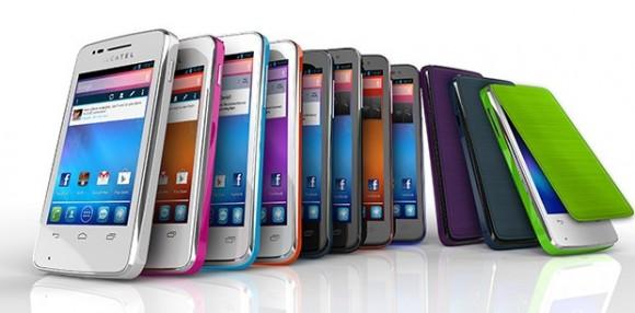 CES 2013: Smartphones gama baja Alcatel One Touch X'Pop, S'Pop y T'Pop