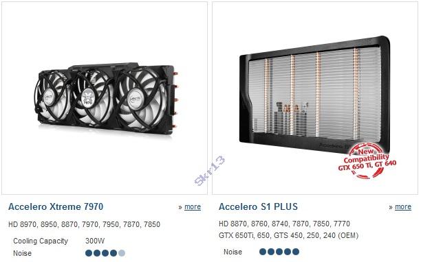 Compatibilidad Arctic Radeon HD 8000 Series