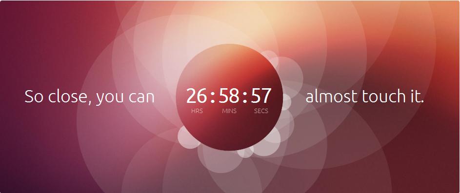 ¿Ubuntu táctil para mañana miércoles?