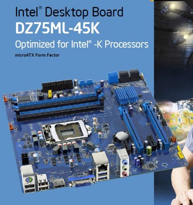 Intel Dz75ML-45K