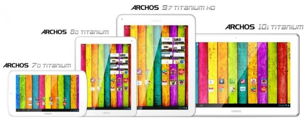Linea de tablets Archos Titanium