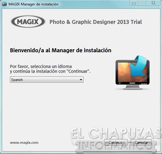 Magix Photo Graphic Designer 2013 Instalación 01 2