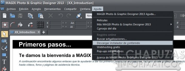 Magix Photo Graphic Designer 2013 Interfaz 02 619x238 7