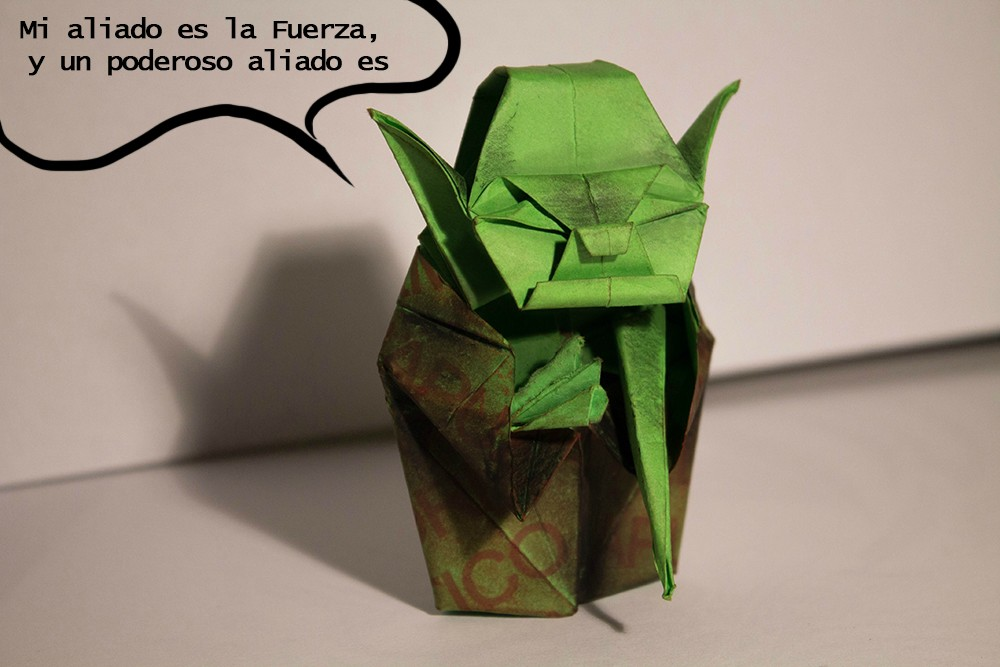Ganadores del concurso de Origamis