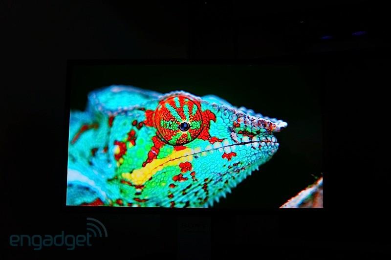 CES 2013: Televisor Sony OLED 4K de 56″ en vídeo