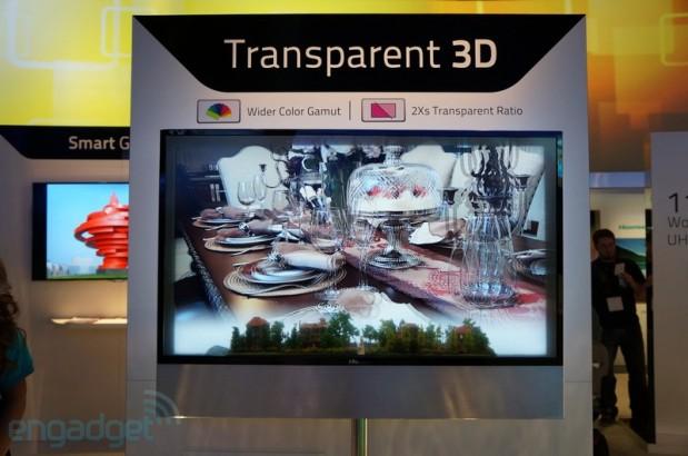 Televisor transparente 3D HiSense (2)