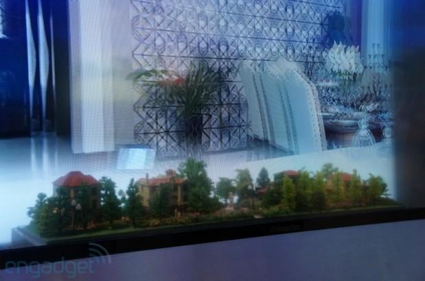 Televisor transparente 3D HiSense (3)