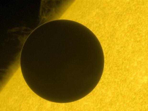 Venus delante del sol