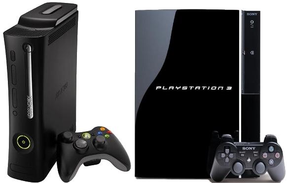 Xbox 360 y PS3