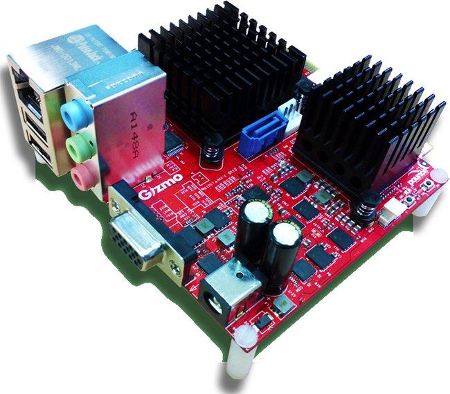 AMD introduce sus APUs G-Series en el mini-pc Gizmo