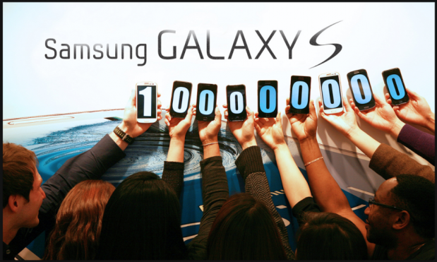 galaxy s 100000000 unidades 619x371 0
