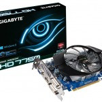 Gigabyte introduce una Radeon HD 7750 con 2 GB de memoria DDR3