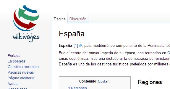 Wikivoyage, la Wikipedia para el viajero