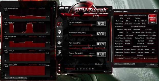 AMD Radeon HD 8950 OEM GPU Tweak
