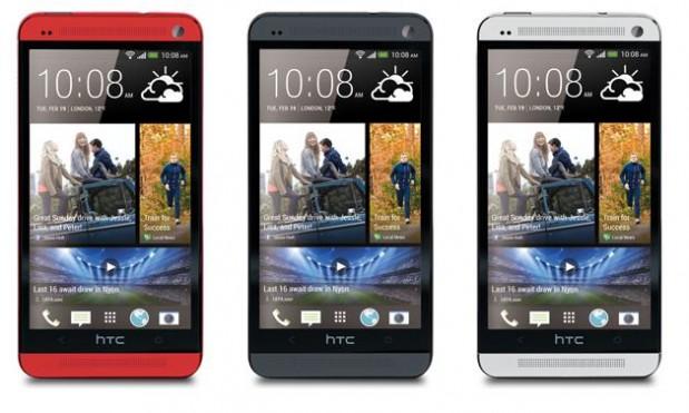 HTC Rojo negro y plata