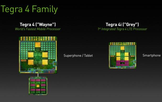 Nvidia Tegra 4 y Nvidia Tegra 4i