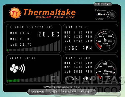 Thermaltake Water 2.0 Extreme Software 01 28