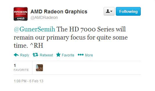Twitter AMD Radeon