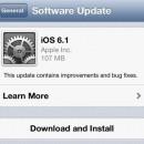 Vuelven los problemas al iPhone con iOS 6.1