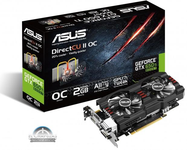 Asus GeForce GTX 650 Ti Boost DirectCU II OC (1)