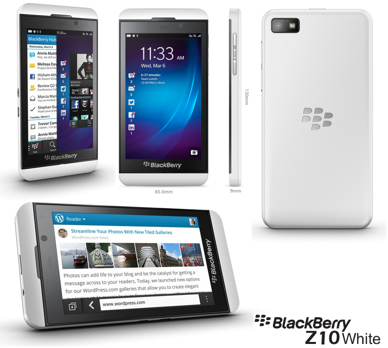BlackBerry Z10 blanco
