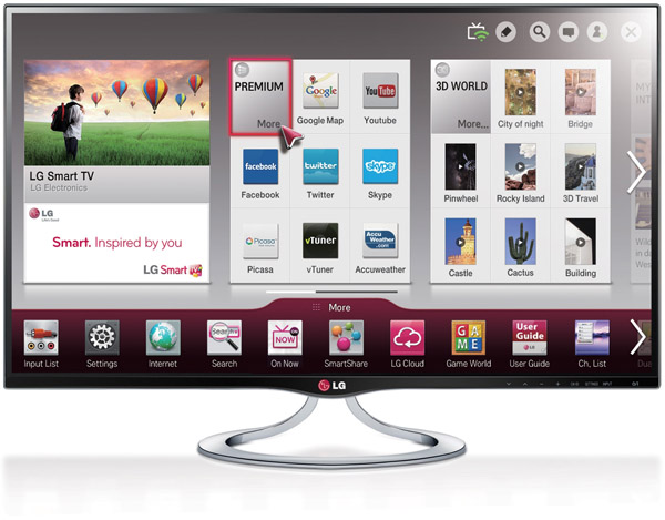 LG anuncia su Smart TV con panel IPS MT93