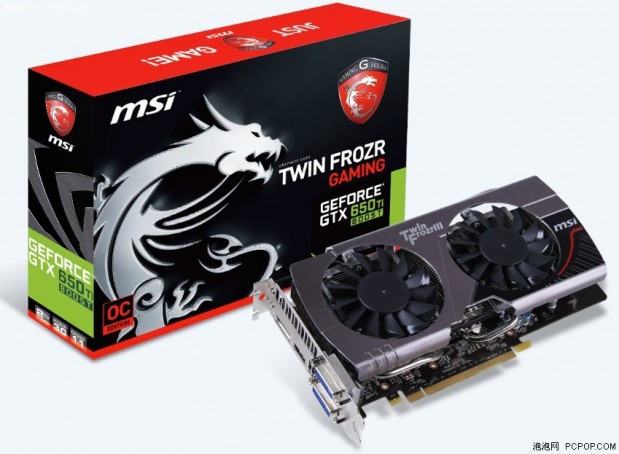 MSI GeForce GTX 650 Ti Boost OC 01