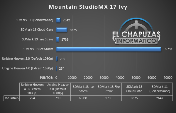 Mountain StudioMX 17 Ivy Test Sinteticos 49