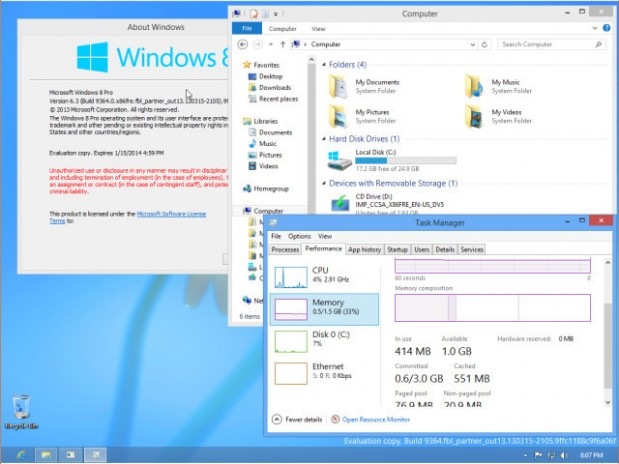 Windows Build 9364 (3)
