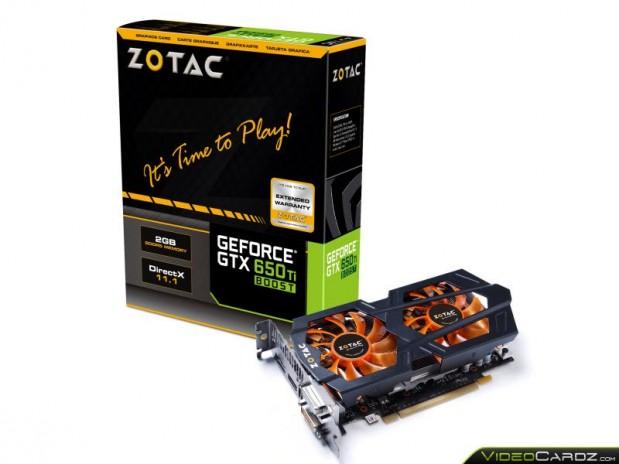 Zotac GeForce GTX 650 Ti Boost
