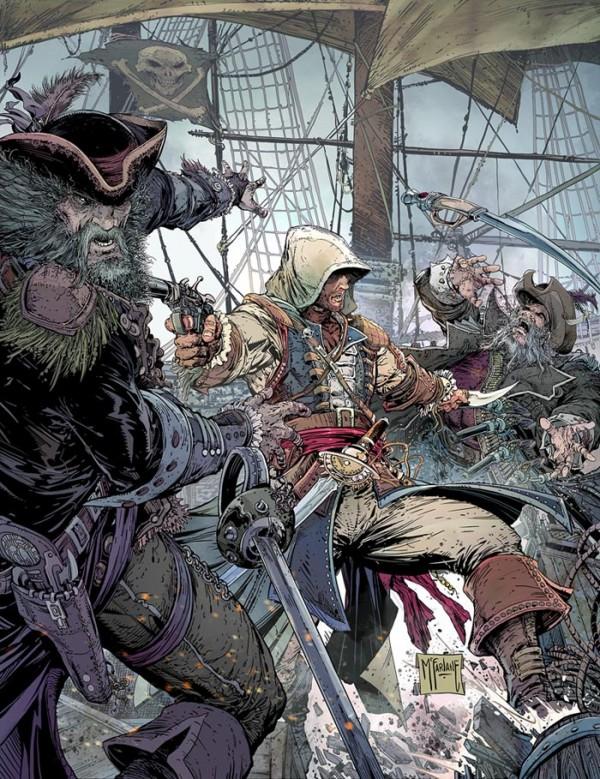 Assassins Creed 4 Todd McFarlane