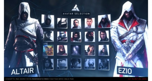 Assassin's Creed Duel personajes
