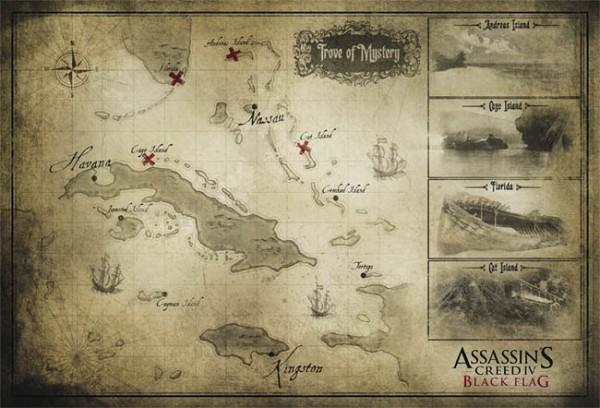 Assassins Creed IV Black Flag Mapa