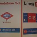 """""""Vodafone Sol"""" y """"Línea Vodafone"""" llegan al Metro de Madrid"""