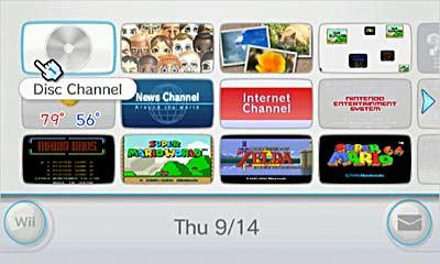 Interfaz Nintendo Wii