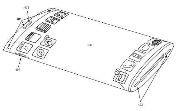 Patente iPhone 5S