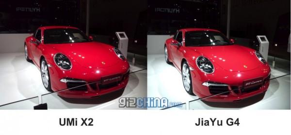 Color UMi X2 vs JiaYu G4