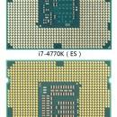 Intel Core i7-4770K un 5% más rápido que el Core i7-3770K