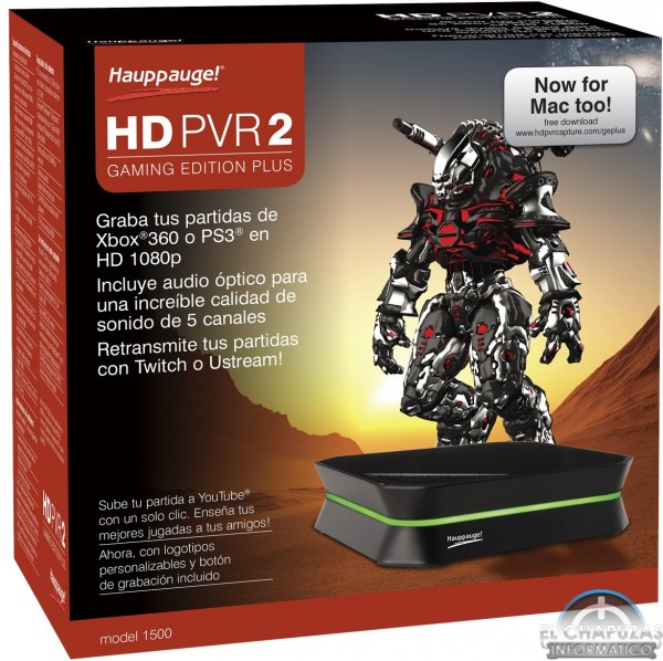 Hauppauge HD PVR 2 Gaming Edition PLUS (1)