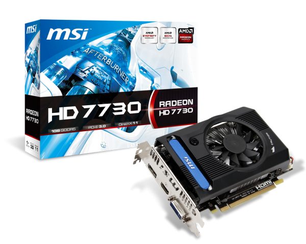 MSI Radeon HD 7730