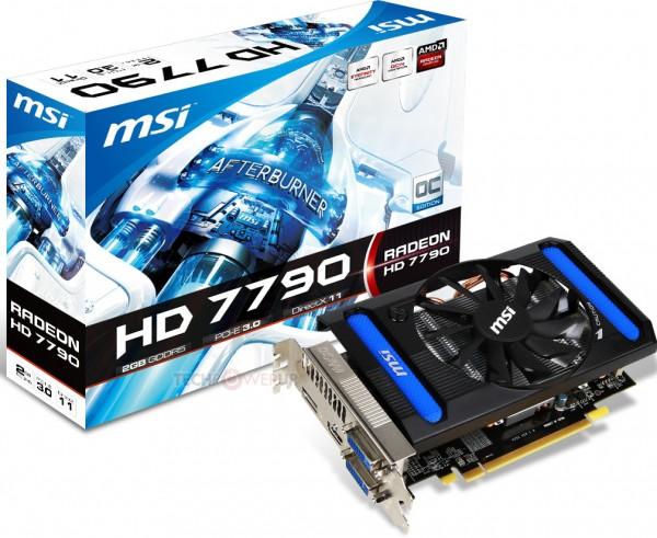 MSI Radeon HD 7790 2GB OC