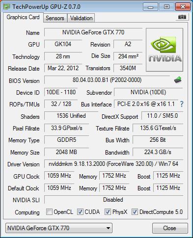 Nvidia GeForce GTX 680 a GTX 770